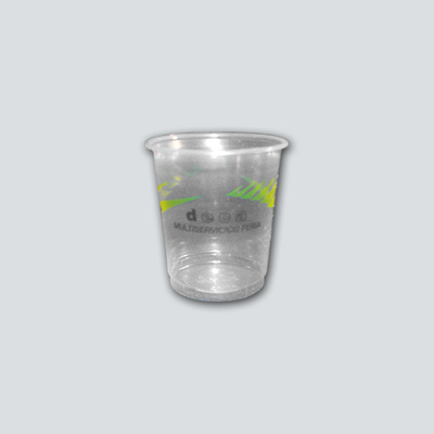 2315 Vaso plástico café