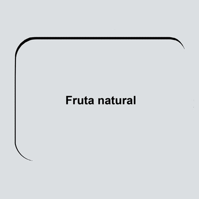 266 Fruta natural
