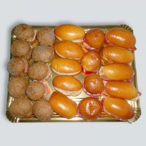 7202 Bocaditos pan de centeno