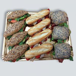 7250 Bocadillos de pan con semillas